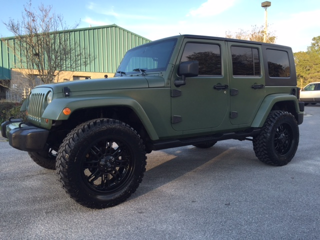 2007 Jeep Wrangler Sahara Unlimited Sold